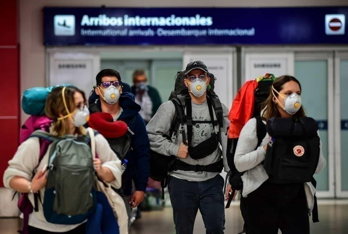 International Arrivals Argentina