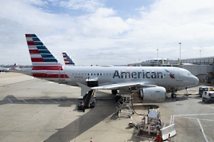 American Airlines in Washington