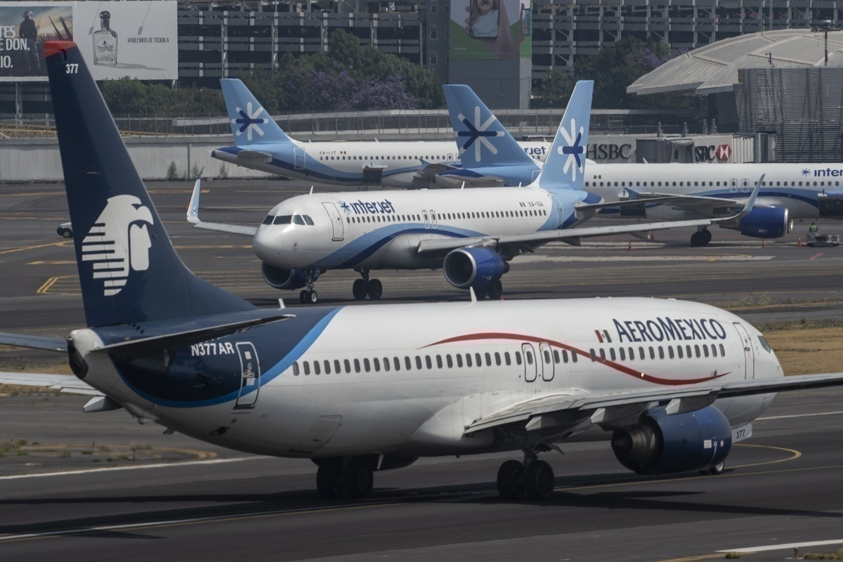 Aeromexico Interjet Getty