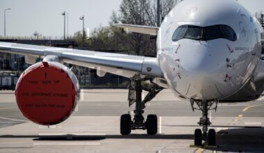 Orly grounded aircraft