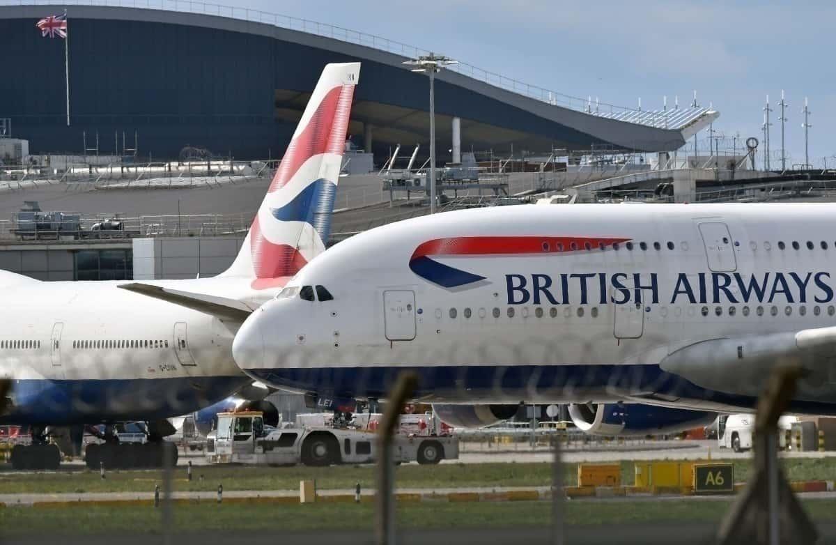 British Airways, Airbus A380, Aircraft Graveyard