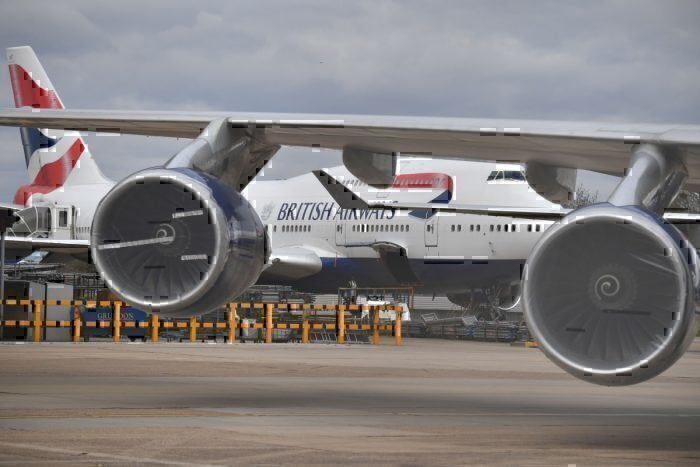 British Airways at Heathrow