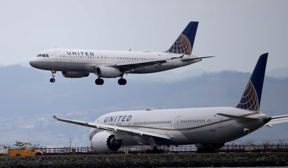 United planes SFO