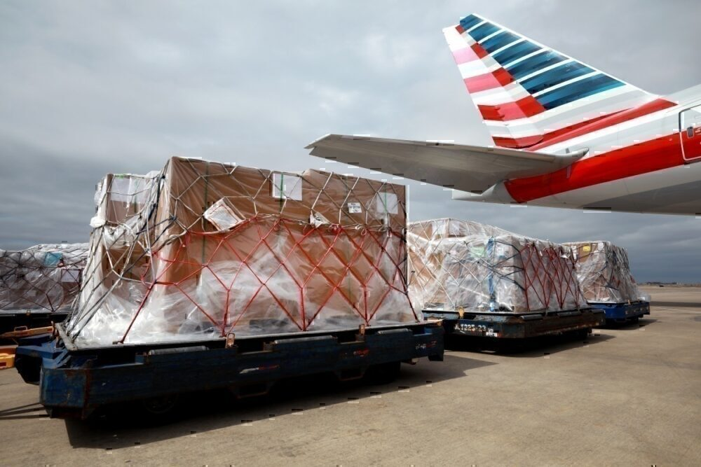 American Airlines cargo-only flight from Dallas Fort-Worth
