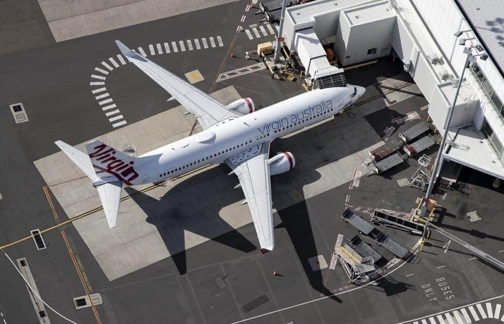 Perth Uses A Bulldozer To Impound A Virgin Australia 737