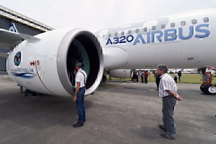 Pratt & Whitney PW1000G engines