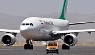 Mahan Air aircraft