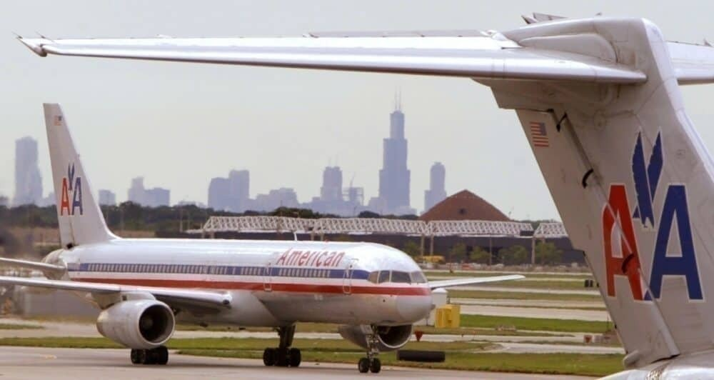 Old American Airlines aircraft