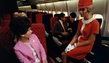 Flight attendant UA