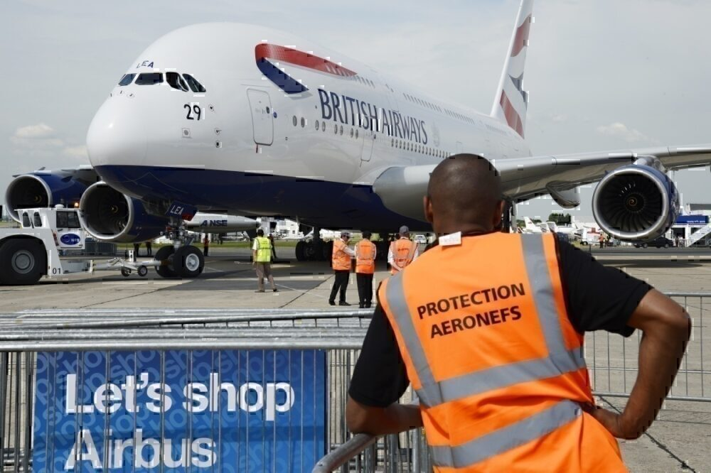 British Airways, Airbus A380, Delivery