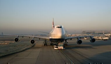 British Airways, Boeing 747, Early Retirement