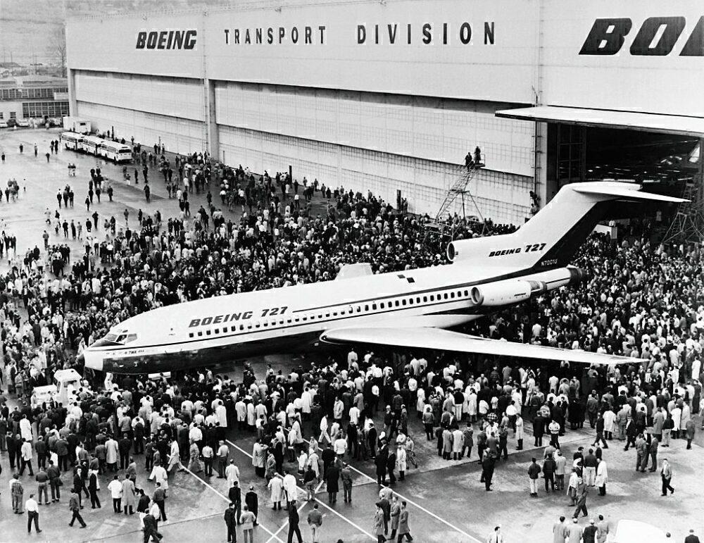 Boeing 727 Getty