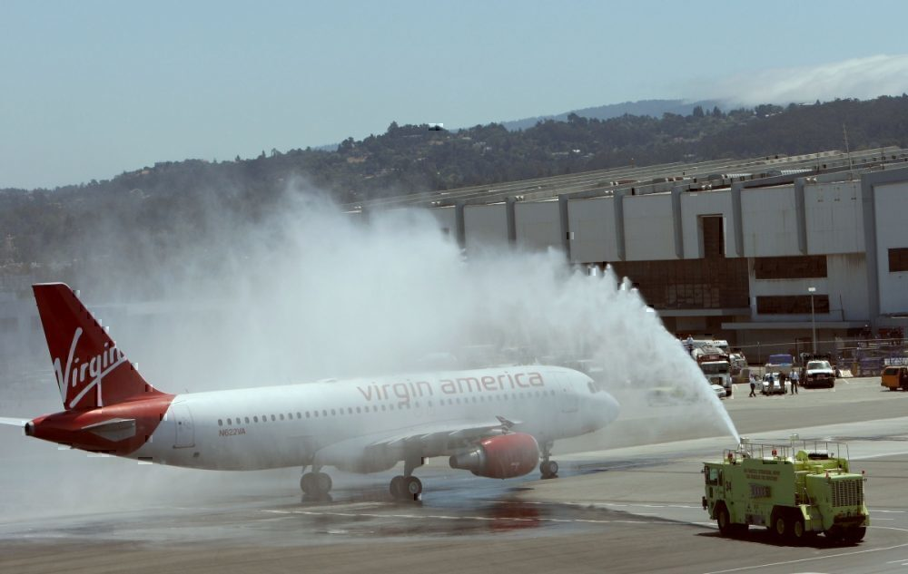 Inaugural Virgin flight