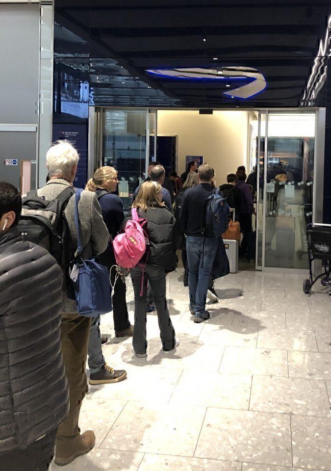 British Airways Galleries North Lounge