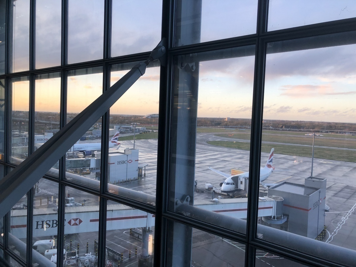 British Airways Galleries North Lounge Heathrow Terminal 5