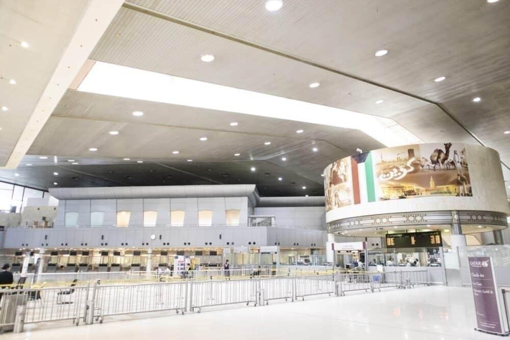 Kuwait Airport Main terminal