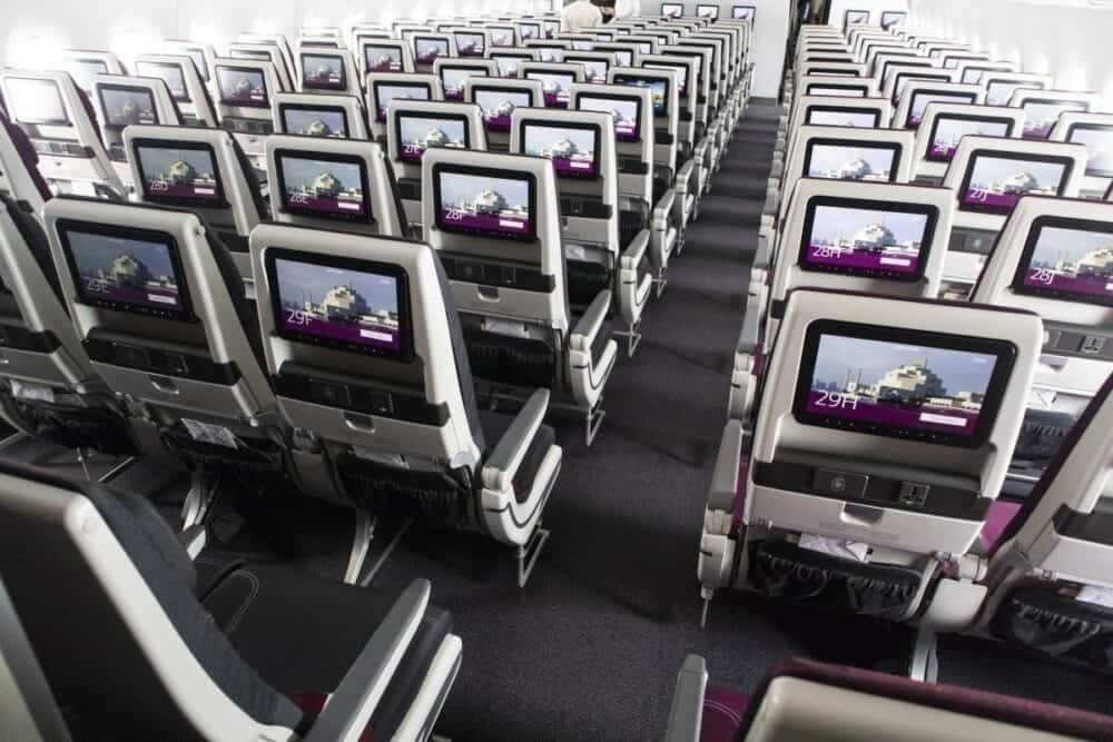 Qatar Airways A350 cabin