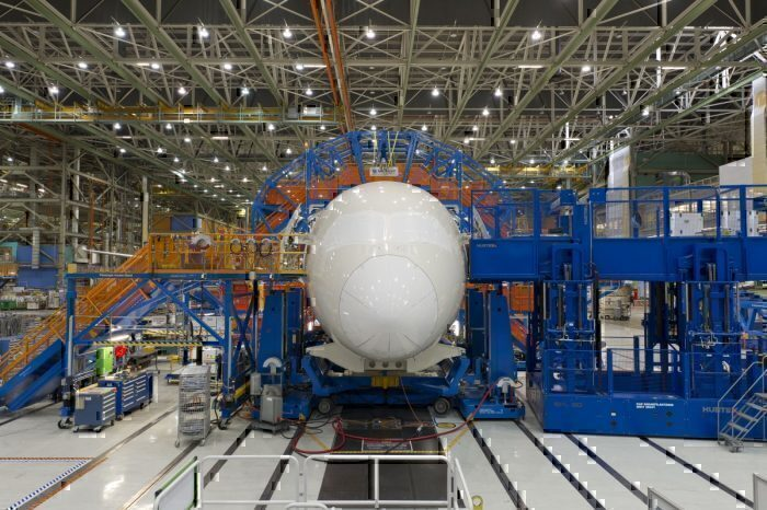 Boeing production