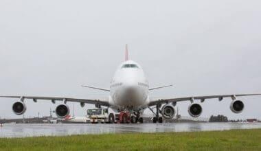 Qantas 747 fifth pod