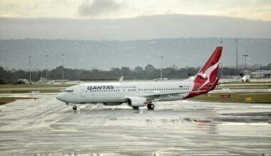 Qantas Perth Airport breach notices