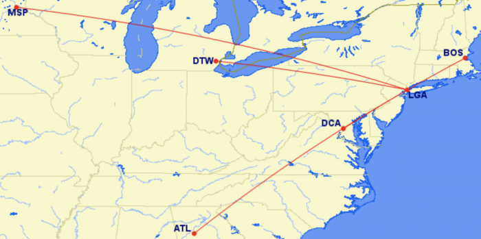 Delta To Operate Over 50 Daily Flights From New York-Area