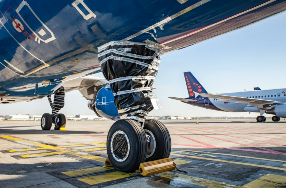 This Is How Brussels Airlines Prepares Its Planes For Parking
