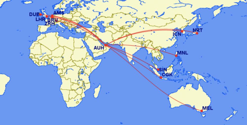 Etihad Further Expands Repatriation Flights