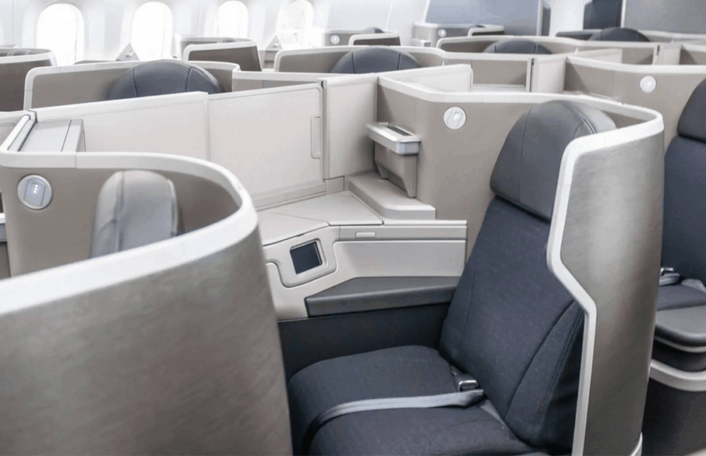 American 787 New Seat