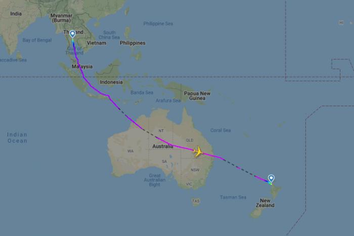 Lufthansa, New Zealand, Airbus A380