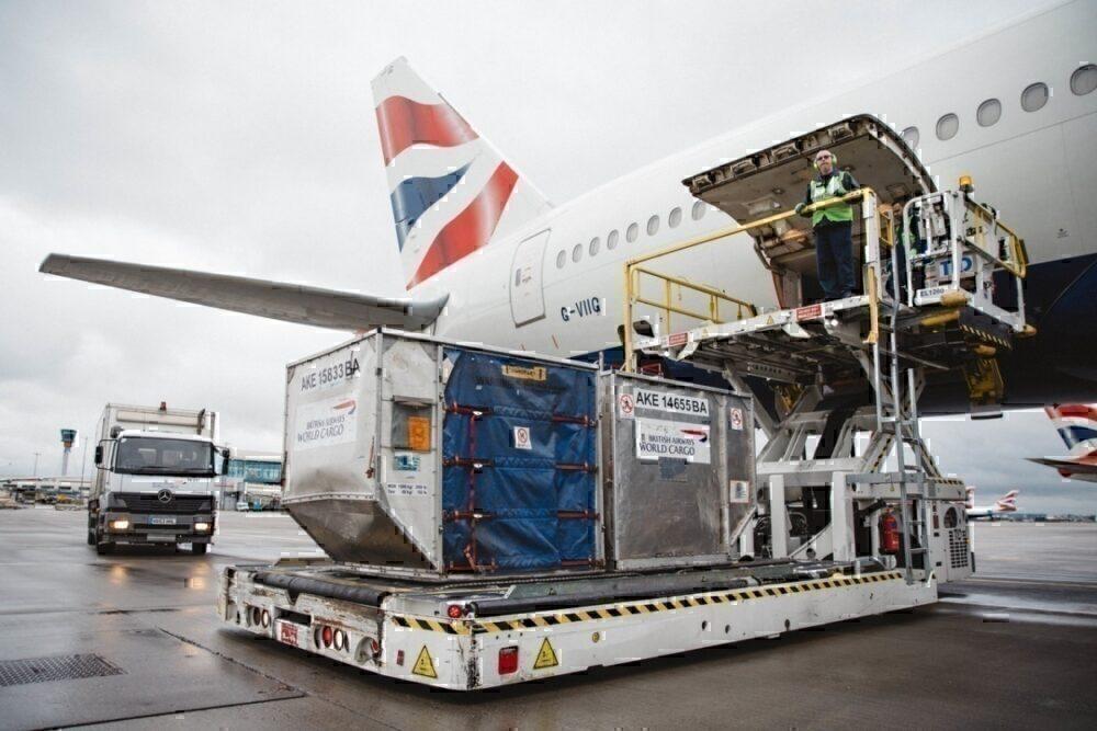 British Airways, Cargo Flights, China