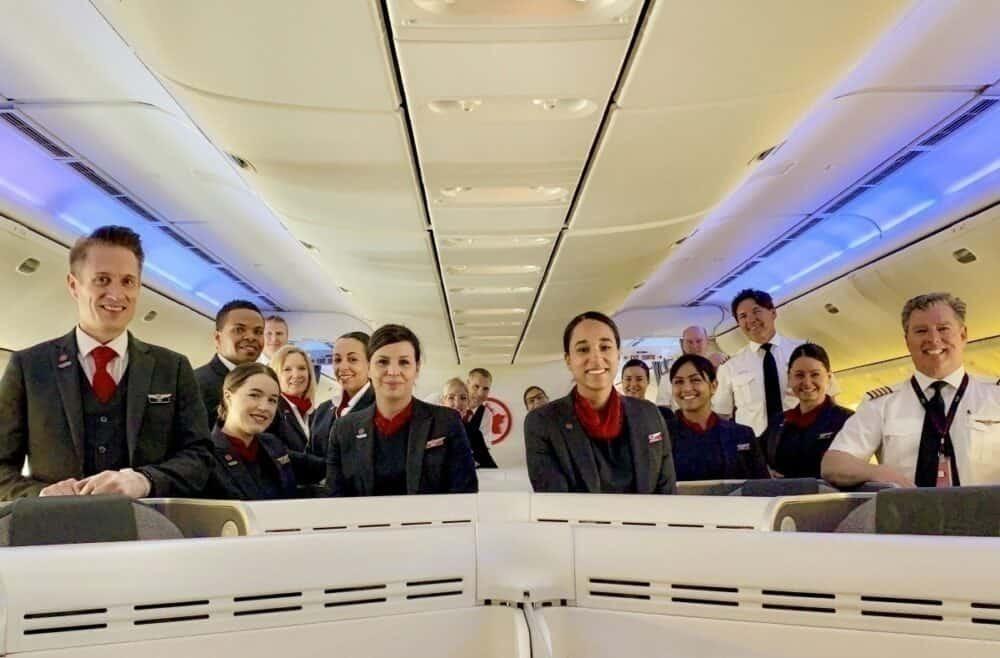 Air Canada repatriation flights