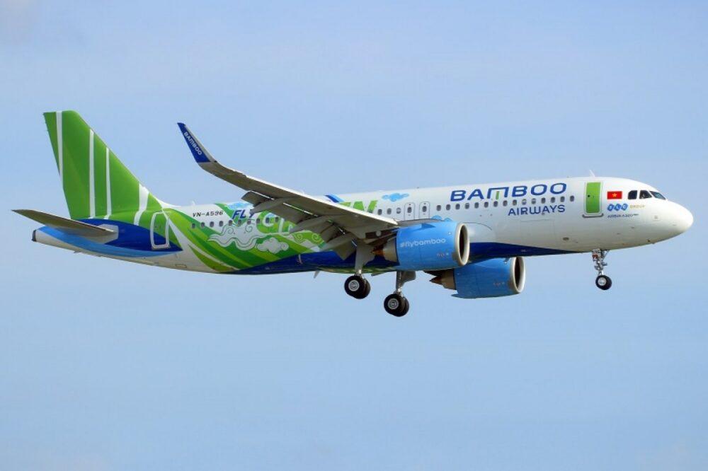 Bamboo airways plane