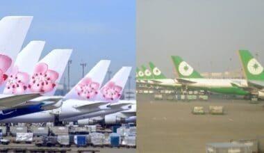Eva Air China Airlines