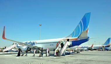 flydubai aircraft on tarmac