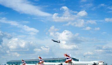 Heathrow, Passenger Number, Fall