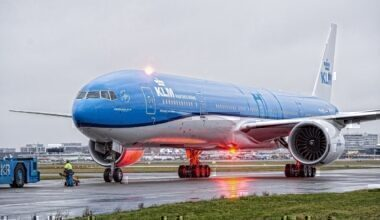 KLM Boeing 777 to Sydney