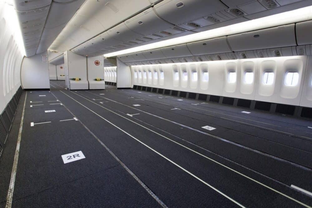 reconfigured 777-300er cabins