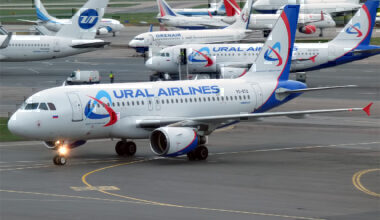 ural airlines a319