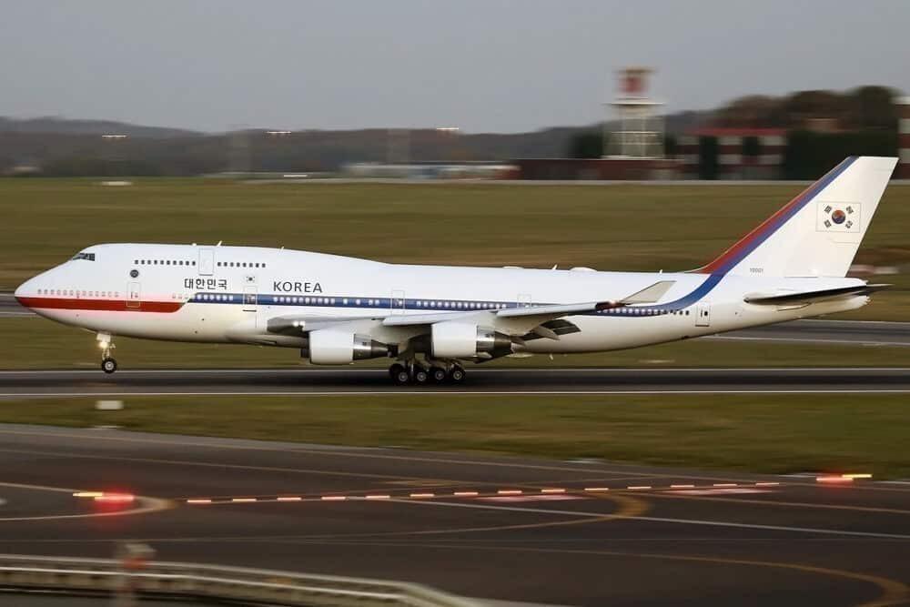 Korean presidential jet