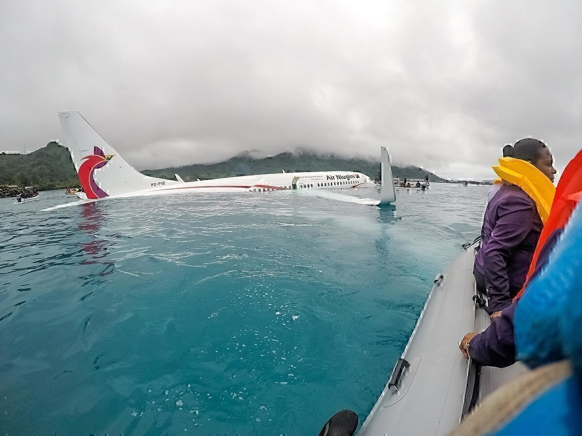 What Happens If An Airplane Lands in Water?
