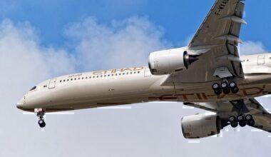 Etihad Airways, Airbus A350-1000, Delivereis