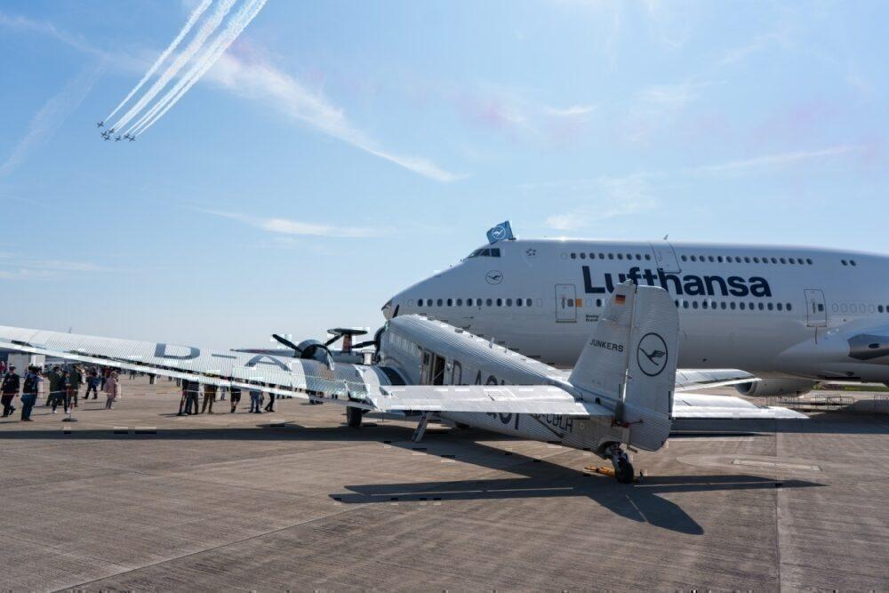 Lufthansa, Set Back, 65 Years