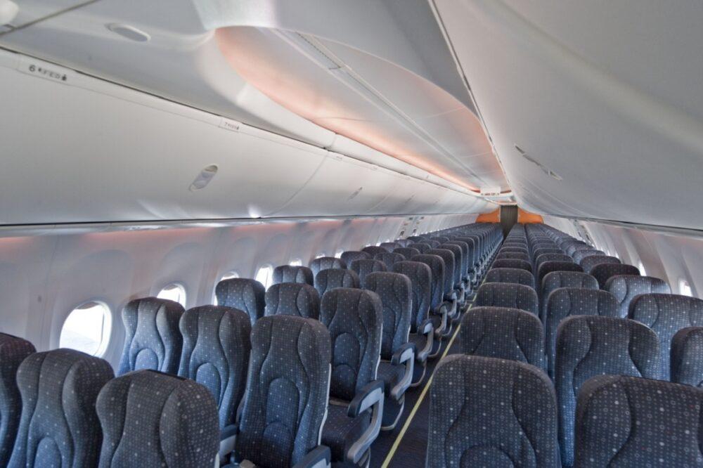 Gol aircraft interior