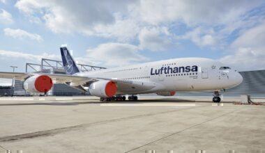 Lufthansa, Airbus A380, Storage