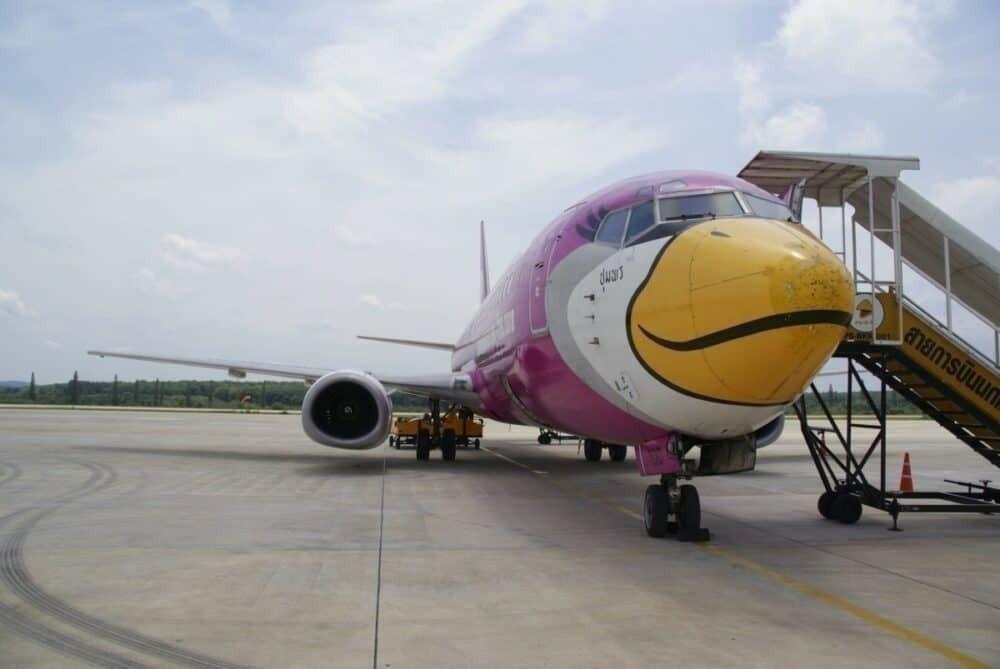 Nok Air at Krabi Airport