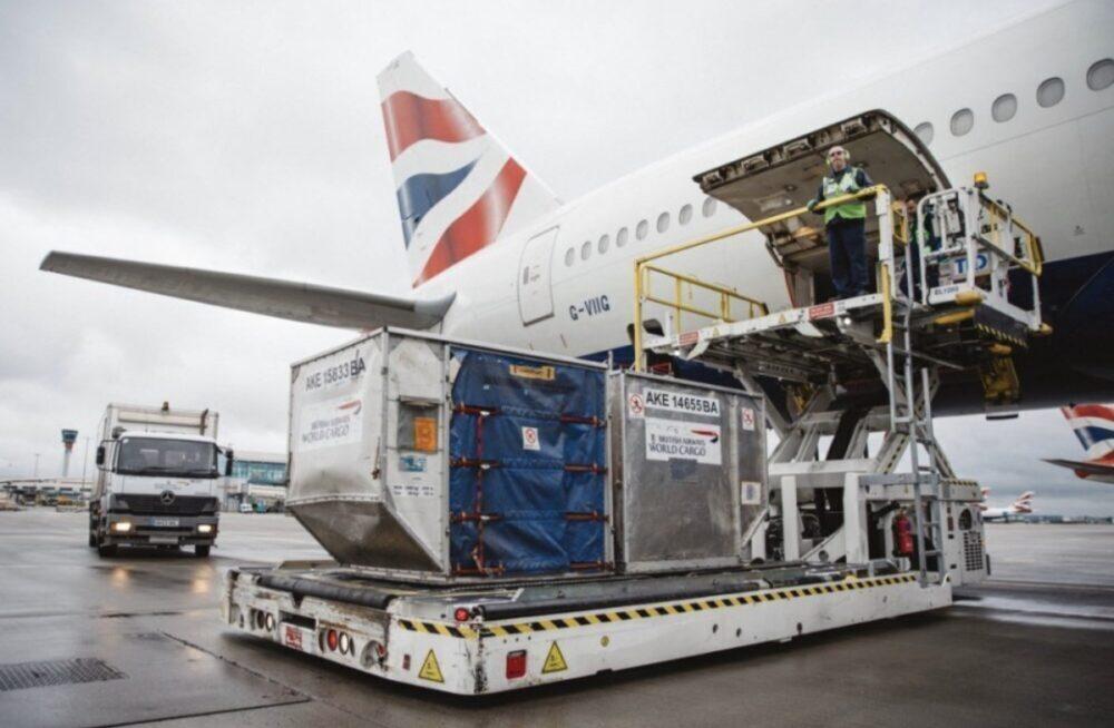 British Airways Cargo 777