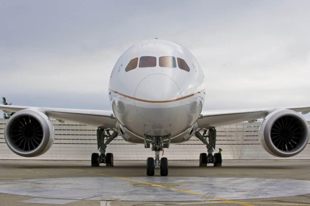 United 787 Dreamliner