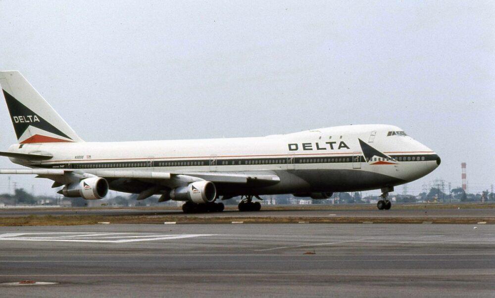 Delta Air Lines 747
