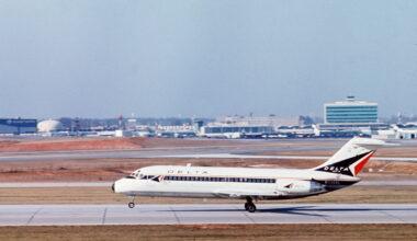 Delta DC-9 Aircaft