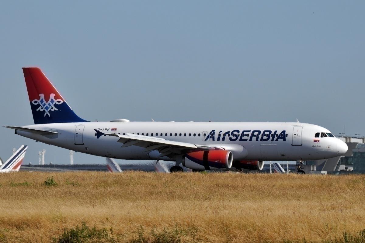 Air Serbia aircraft Airbus